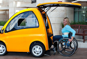 Meet the Kenguru, the world's first EV made specifically for wheelchair users