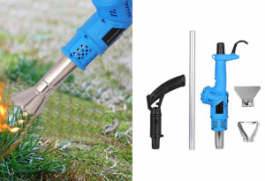 This 3-in-1 weed burner can scorch away unsightly weeds with a button press