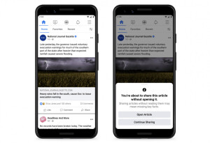 Facebook test makes sure you've read an article before sharing it