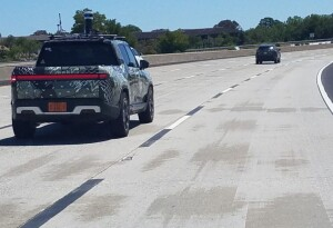 Rivian R1T's been spotted with a LiDAR rig — is this Driver+ related?