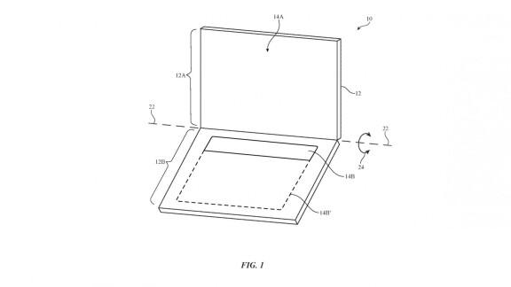 Microsoft patent details foldable devices orientation