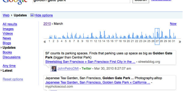 Google Launches Twitter Timeline Search