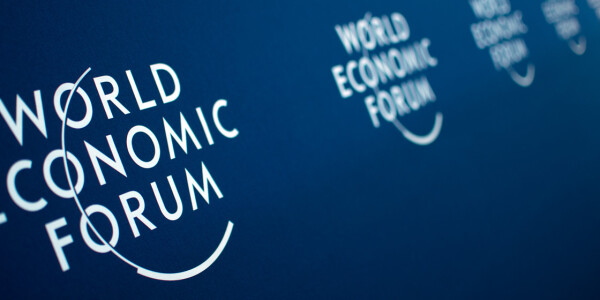How a social media news stream turns the sealed-off World Economic Forum into a virtual event