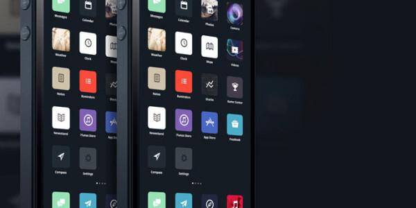 My Minimalistic iOS 7 Redesign Concept