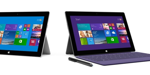 Microsoft reveals new Surface 2 and Surface Pro 2. Second time's the charm?