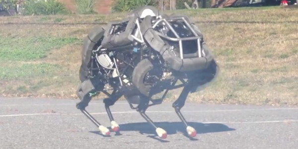 Google acquires a company that makes walking, running robots – including one faster than Usain Bolt