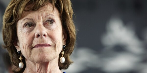 "EU Commission VP Neelie Kroes is ""outraged"" by Uber ban in Belgium [Update]"