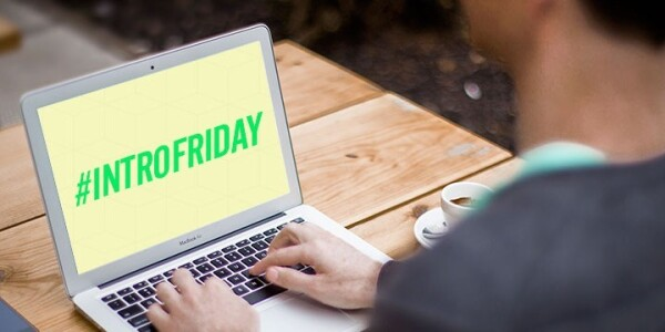 Cold-call networking is hard: Take the #IntroFriday challenge