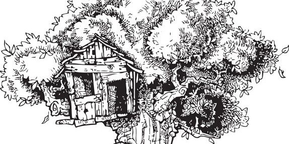 Think ink: The magic of hand-drawn black-and-white illustrations