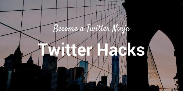 15 Twitter hacks that will turn you into a tweeting ninja