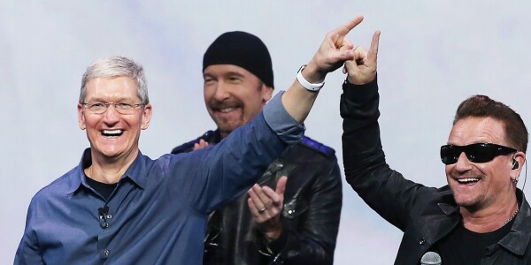 Apple is working on a new digital music format, U2's Bono says