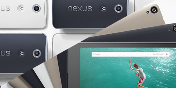 We're giving away a Nexus 6 and Nexus 9: Come and get 'em!