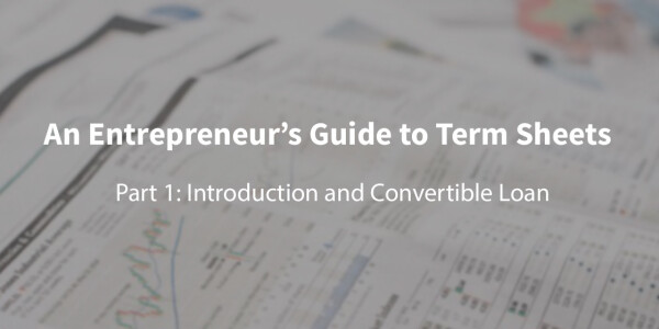 A first-time founder's guide to term sheets: What's a convertible loan?
