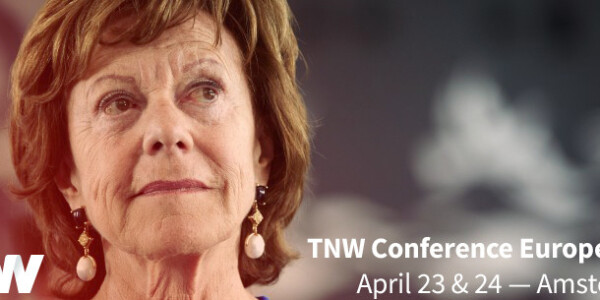 Neelie Kroes added to TNW Conference speaker lineup