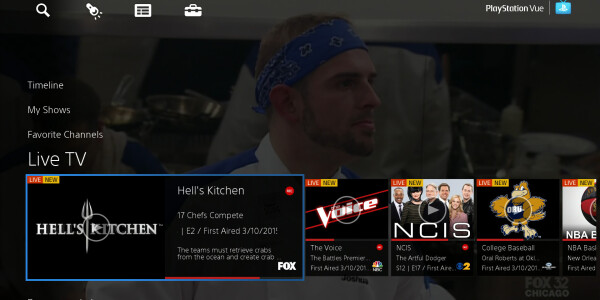 Sony launches PlayStation Vue streaming live TV service in New York, Chicago and Philadelphia