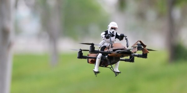 Want to build a DIY Star Wars-themed drone? These people have