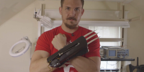 Here's how to DIY muscle-activated bionic claws that let you flex like Wolverine