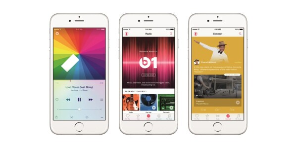 You can't stream your iTunes library from your computer to your iOS 8.4 devices