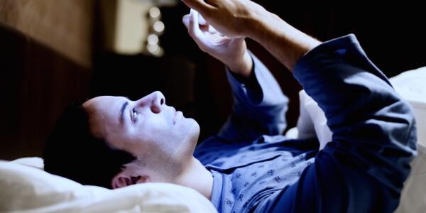 Do you sleep with your smartphone on the nightstand?