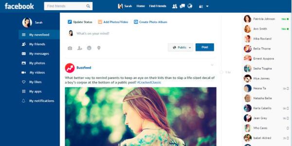 How Facebook should be designed
