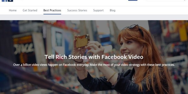 10 quick wins for getting started with Facebook video
