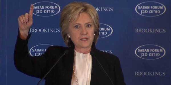 Hillary Clinton calls for an end to 'the nexus of terrorism and technology'