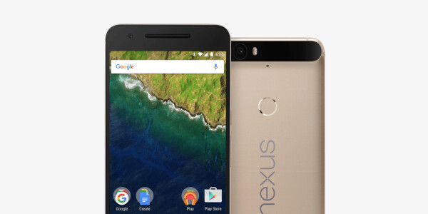 Google finally released a gold Nexus 6P