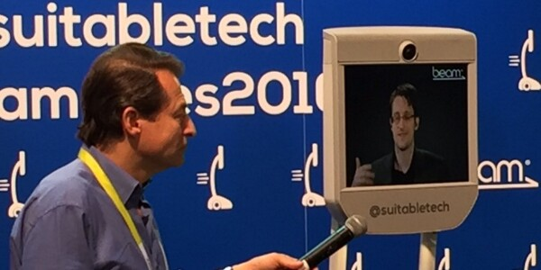 The closest the US has come to Edward Snowden is at CES 2016