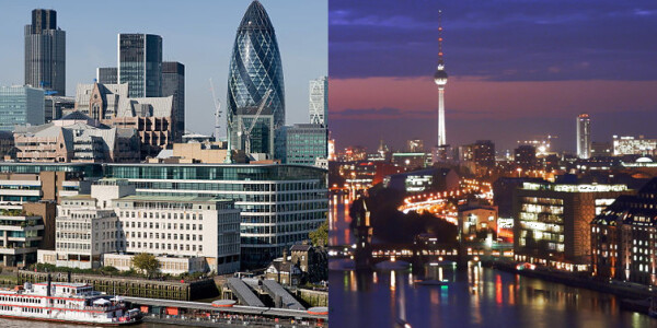 London versus Berlin: Which startup ecosystem will lead Europe?