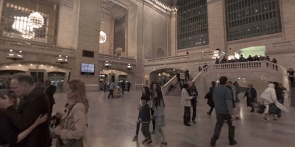 Facebook premieres its first 360-degree film about NYC's Grand Central Station