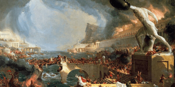 Rome didn't fall in a day – it didn't fall at all