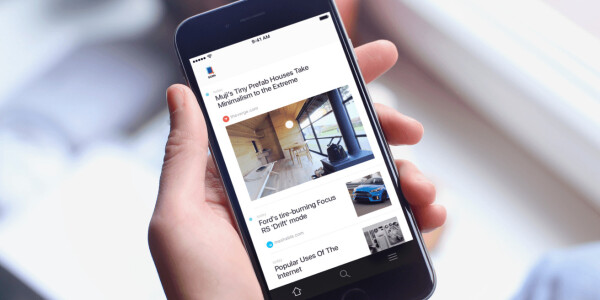SCRN lets you save articles for later by taking screenshots