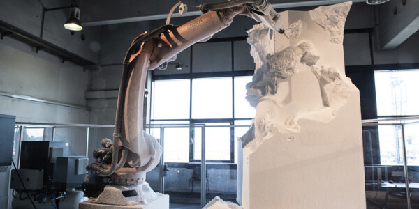 Robot sculptors are hijacking galleries all around the world