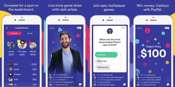 Vine's creators built a live trivia app that actually pays you