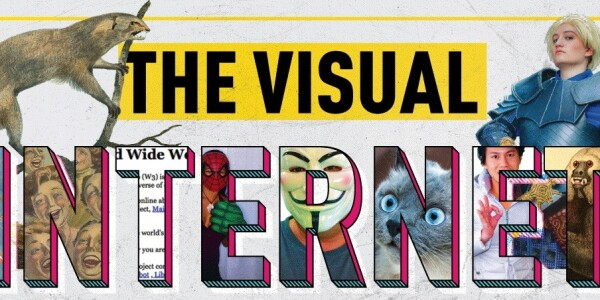 This infographic reveals the past, present, and future of online visuals