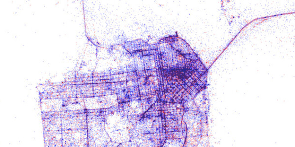Here's a beautiful map of 1 billion Shazams