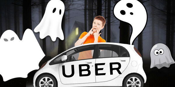 How Uber ghost rides are linked to online money laundering