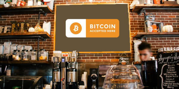 4 years after adopting Bitcoin, this business is still waiting for someone to use it