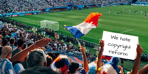 EU copyright reform will penalize sports fans