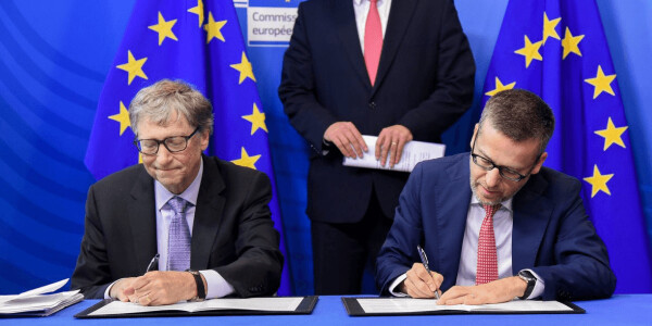 Bill Gates and the EU announce a €100M investment fund to combat climate change