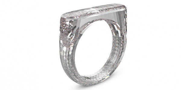 Apple's Jony Ive designed a diamond ring that's literally all diamond