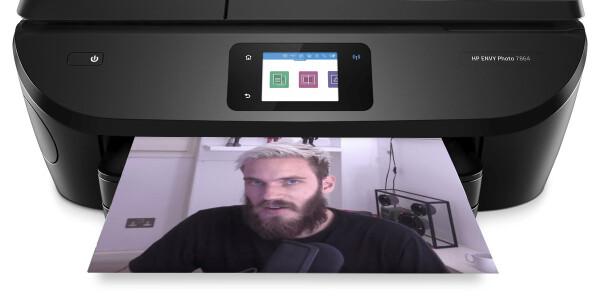 50,000 printers hacked to help PewDiePie keep his YouTube crown