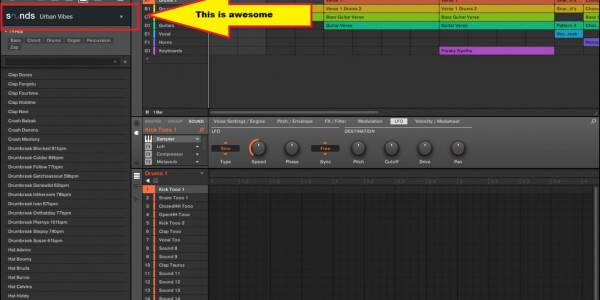 Sounds.com now integrates with Maschine 2 and I'm in producer heaven