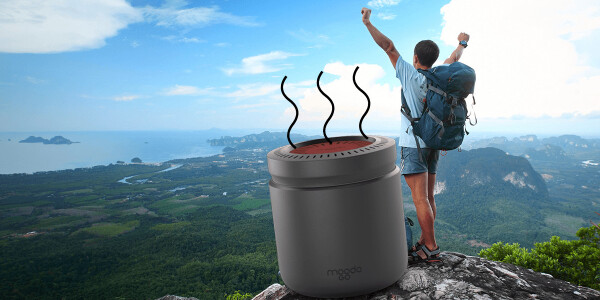 The MoodoGo will let you make smells wherever you may roam
