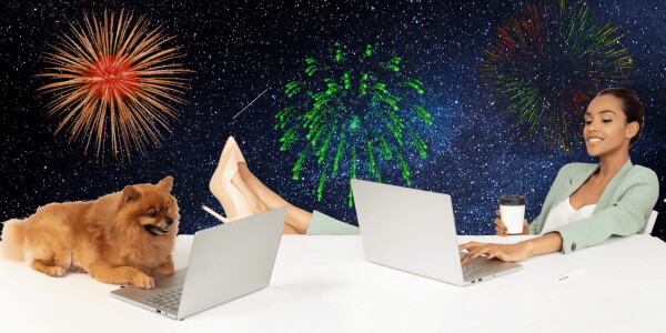 8 digital New Year's resolutions to improve your personal and work life
