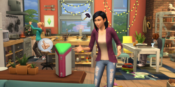 Alexa gets a Sims 4 integration, while Sims get an off-brand in-game Alexa