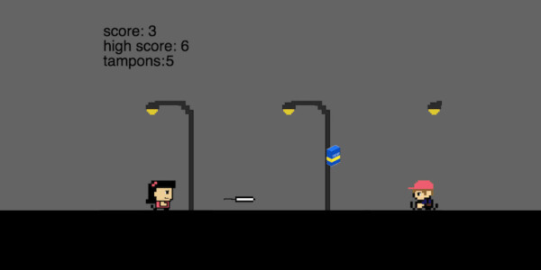 This video game lets you throw tampons at 'menstrual haters' and I love it