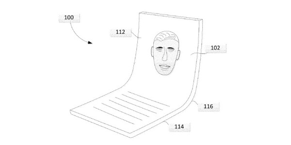 Google's foldable patent hints at a compact clamshell phone