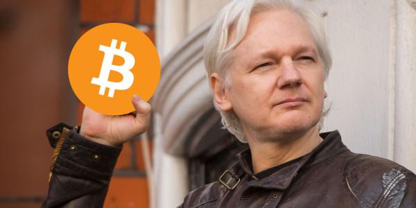 Wikileaks' Bitcoin donations spike following Julian Assange's arrest