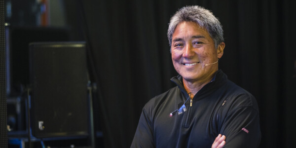 Guy Kawasaki's key to success: get high and to the right